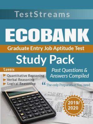 Ecobank Graduate Job Aptitude test past questions Study pack