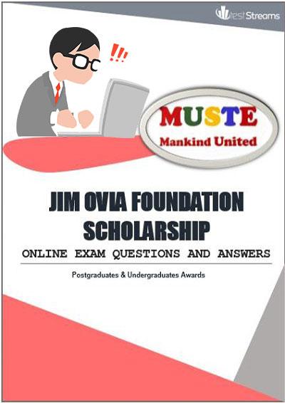 Jim Ovia Foundation Scholarship Aptitude test