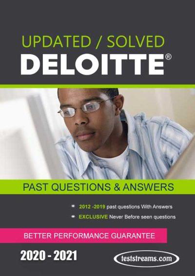 past questions for Deloitte aptitude test