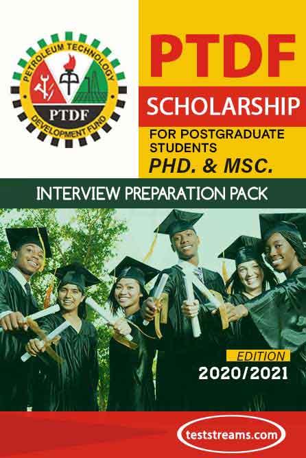 PTDF Scholarship Interview