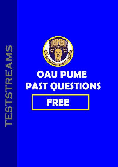 Free OAU post ume past questons