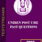 Free Uniben Post UTME past questions