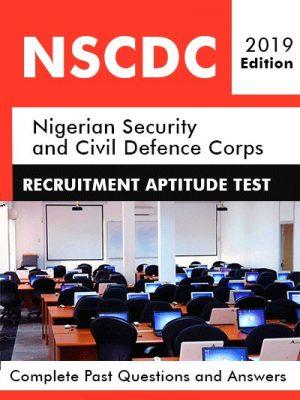 NSCDC Recruitment Aptitude Test Past Questions