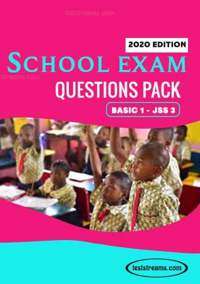 School Exam questions pack