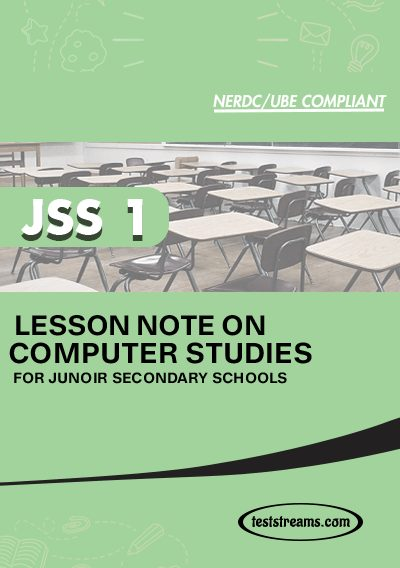 Lesson Note on COMPUTER for SS2