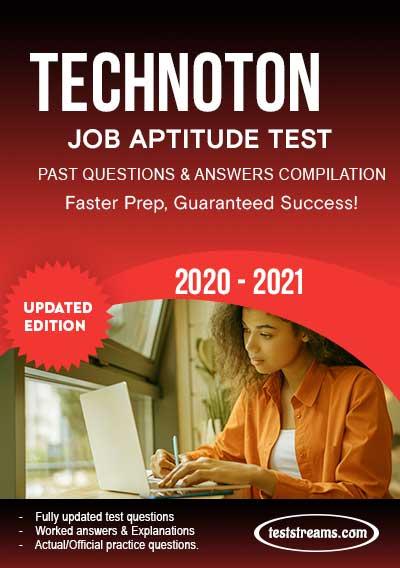 Technoton Aptitude Test past questions & answers