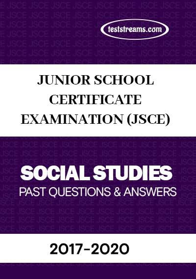 JSCE Social Studies Past Questions