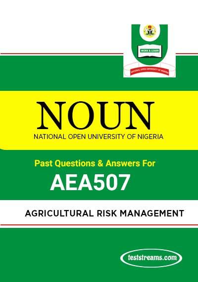 AEA507 – Agricultural Risk Management (october-2019)