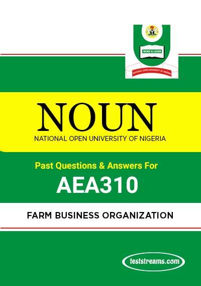 NOUN FARM BUSINESS ORGANIZATION