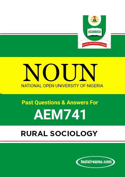 NOUN RURAL SOCIOLOGY