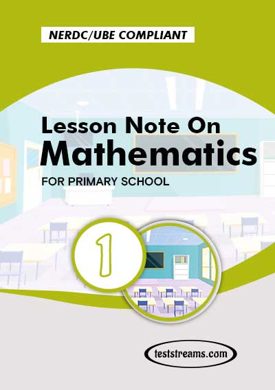 Primary 1 Lesson note On Mathematics MS-WORD/PDF Download