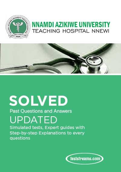NAUTH School of Nursing Nnewi Past Questions